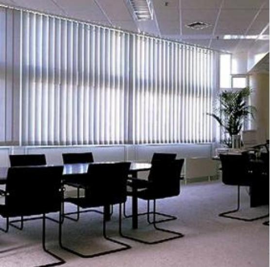 Rèm lá dọc sang trọng chuyên cho văn phòng