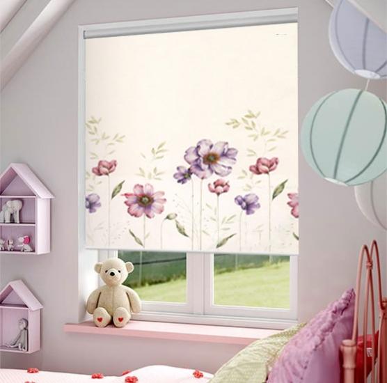 Rèm cuốn in tranh đẹp chuyên cho phòng ngủ trẻ em
